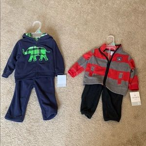Carters 9 months boys' outfits.